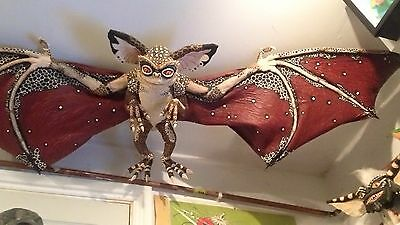 Life Sized Bat Gremlin Replica 6 Foot Across! This Thing Is Huge!