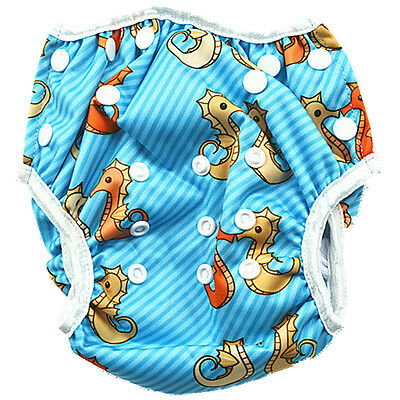 Reusable Swim Nappy Baby Toddlers Diaper Pants Swimming Nappies Swimmers (S1)