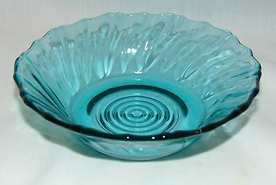 "Jeannette SWIRL *ULTRAMARINE BLUE *5 1/4"" BERRY BOWL*"