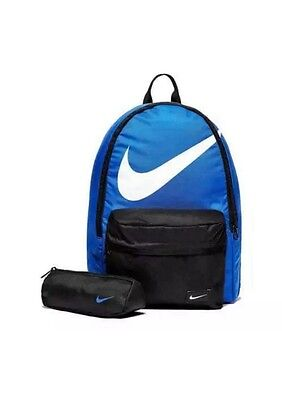 BNWTS Nike Backpack 23 litres with pencil case/rucksack/school bag/gym bag/black