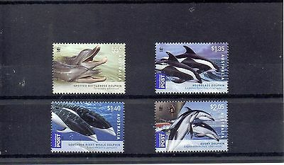 AUSTRALIA 2009 WORLD WILDLIFE FUND SG 3197 to 3200 MNH - WHALES