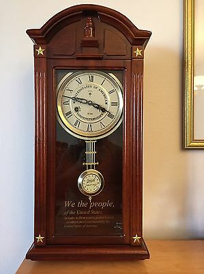 Vintage Gorgeous wall clock to celebrate the 200th anniversary of the U.S.