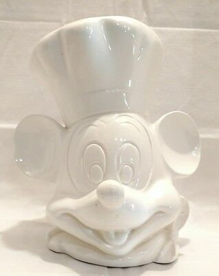 Mickey Mouse Ceramic White Cookie Jar