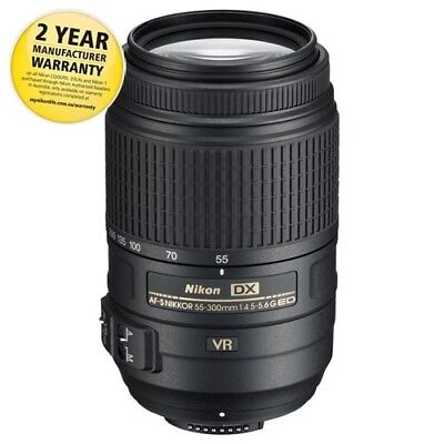 Nikon JAA814DA 55-300mm f4-5.6 DX Zoom Lens with AUST NIKON WARRANTY