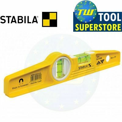 Stabila 81SREM Rare Earth Magnet Magnetic Torpedo Spirit Level Scaffold Boat