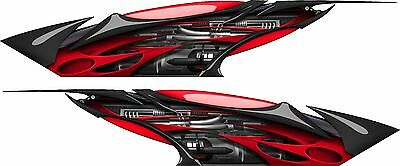 """Boat Car Truck Trailer  Graphics Decal Vinyl Stickers RACING WRAP 2- 70"""" X 14"""""""
