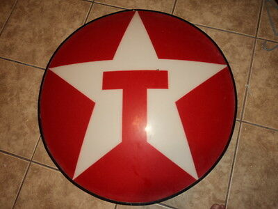 Vintage Texaco Round Button Sign