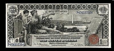 "$1 1896 Silver Certificate "" Educational"" PMG Very Fine 30"