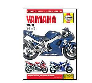 Yamaha YZF-R1 1998-2001 Haynes Workshop Service Manual