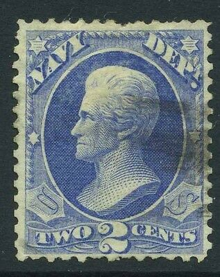 1873 US Navy Official 2c Sc O36 Used Cat $25.00
