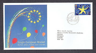 Great Britain - 1992 - Single European Market, Scott# 1467, Combo Cover