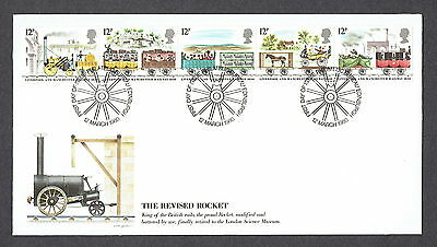 Great Britain - 1980 - The Revised Rocket, Scott# 904-08 Combo Cover