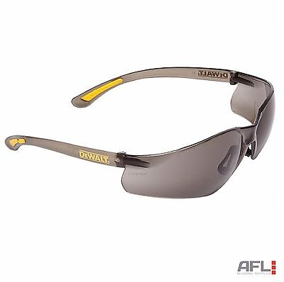 Dewalt Contractor Pro ToughCoat™ Impact Scratch Resistant Safety Glasses Smoke