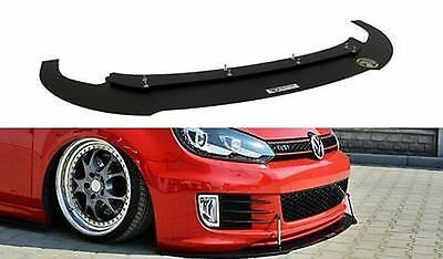 Racing Cup Spoilerlippe Front Diffusor Spoiler VW Golf MK6 6 GTI 35TH ED35 R32