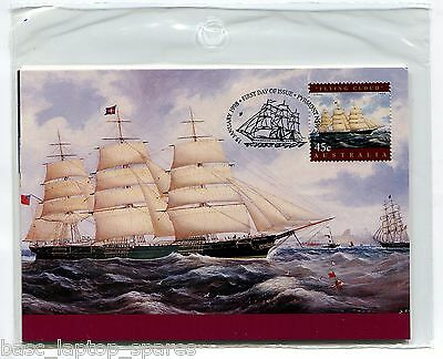 1998 Maxi Cards - Maritime Heritage: Romance of the Sail