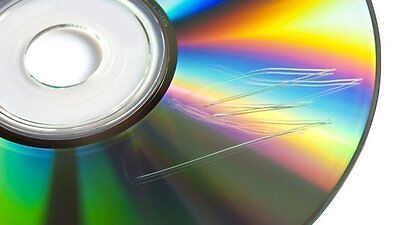 DVD /CD Xbox Wii Scratched Disc Repair Service - 4 X LIGHT SCRATCH