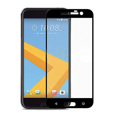 For HTC 10 Screen Protector FULL 3D Edge to Edge Coverage Tempered Glass W4H5