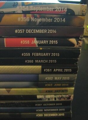 Beckett Sports Cards Prices Guide 2015 Set Of 11 Magazines + Bonus 3 Mags 2014