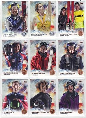 Heather Mcphie Freestyle Skiing 2014 Topps Us Olympic & Paralympic Bronze #62