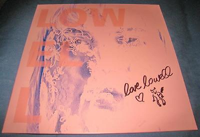 Lowell Elizabeth Boland We Loved Her Dearly LP Vinyl © 2014 New Signed w/COA