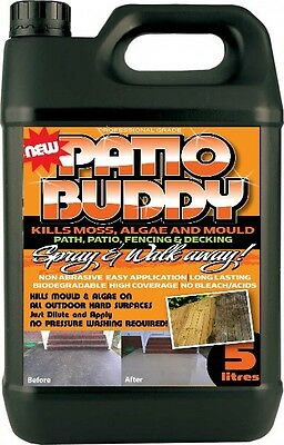 Patio Cleaner Mould Algae Moss Killer Remover Drive Path Magic Decking Fencing