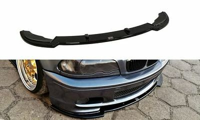 Cup Spoilerlippe Front Diffusor BMW 3er E46 M PAKET COUPE