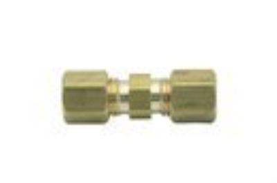 """LTWFITTING 3/16"""" OD Compression Union ,BRASS COMPRESSION FITTINGPack of 30"""