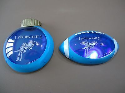 Set of 2 Yellow Tail Wine Austrailia Store Display Light Signs