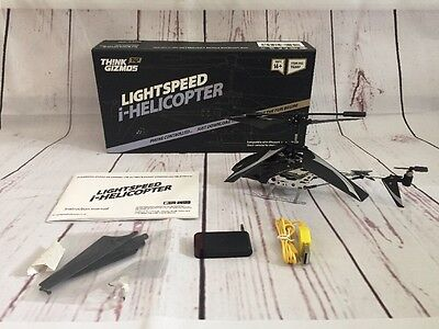 Think Gizmos Light speed I -Helicopter Phone Controlled  Flying Gadgets Lights
