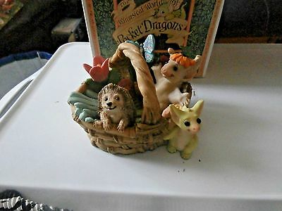 Pocket Dragons  Collectible World  Gardening Basket[Club Redemption][Box Tatty]