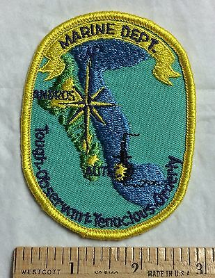 AUTEC Marine Department US Navy Atlantic Undersea Test Evaluation Center Patch