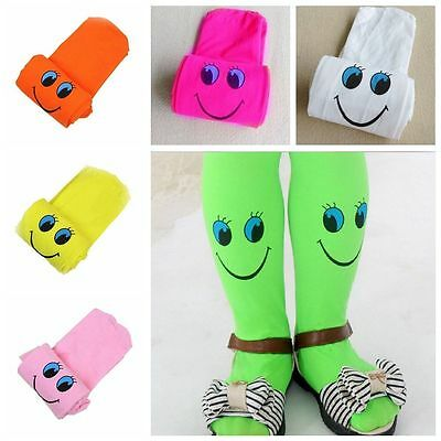 Ballet Socks Velvet Soft Pantyhose Cartoon Smile Stockings Tights