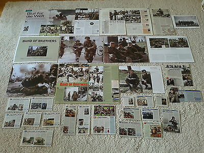 Sammlung Berichte /Clippings   Krieg  Serie  Band of Brothers  Damian Lewis