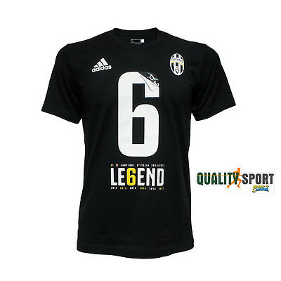 Adidas Juventus Winner Tee T-shirt Legend Le6end Champions Serie A CZ0671 2017
