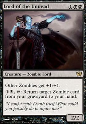 *MRM* FR Seigneur des Morts-vivants - Lord of the Undead  MTG 8-9th edition