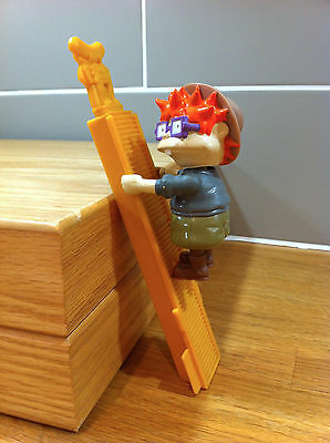 Nikelodeon Rugrats Chuckie Finster Climbing Indiana Jones toy figure - MUST SEE