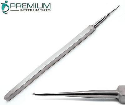 ENT Meyhoefer Chalazion Ear Curettes # -1 Cupped End 0.5mm Surgical Instruments