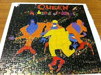 Queen A Kind Of Magic Rare Uk Only Album Sized Jigsaw Puzzle Missing One Piece