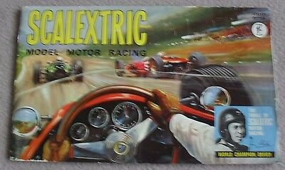 SCALEXTRIC MODEL MOTOR RACING seventh edition brochure - GC