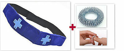 1 x Magnetic Acupressure Multi Energy Head Belt -Head ache, Migraine,Dizziness