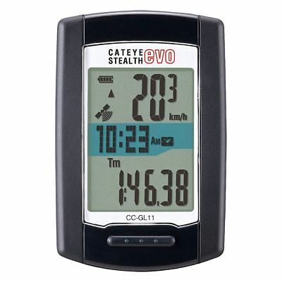 Brand New CATEYE CC-GL11 Stealth Evo Wireless Cycling Computer with GPS