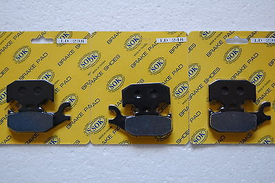 FRONT&REAR BRAKE PADS fit CAN-AM Outlander 500 650 800 900 2007-2012