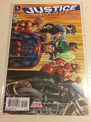 DC Comics New 52 Justice League #50 Romita Jr Variant (NM 9.4) ** HOT BOOK **