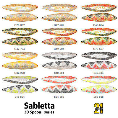 Pontoon21 SABLETTA 3D Spoon (Salmon, SeaTrout, Pike, Perch, Zander)