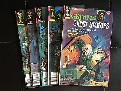 Grimm's Ghost Stories (GK, 1977) Lot of 5 issues #36, #40, #49, #50, #54