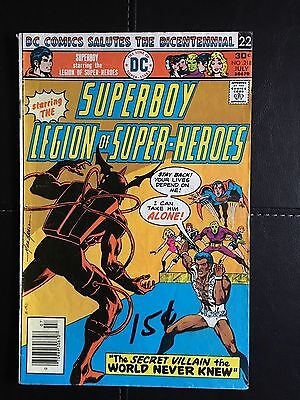 Superboy (DC, 1976) Issue #218