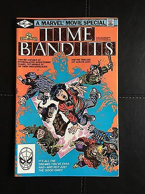 Time Bandits (Marvel, 1982) Issue #1
