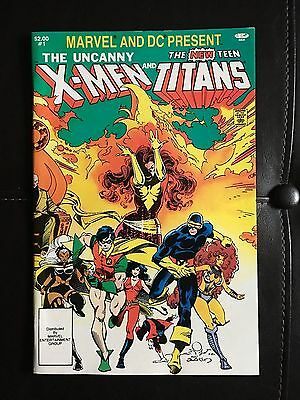 Marvel and DC Present -The Uncanny X-Men and The New Teen Titans (1982) Issue #1