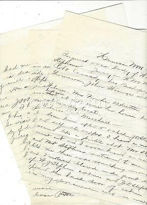 1893 New Mexico Territory Hermosa Inquest Over Body Probable Suicide Shooting 4P