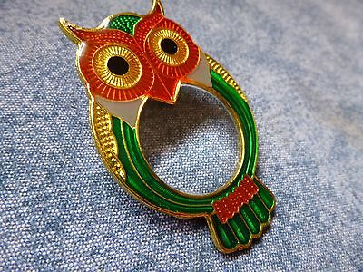 New!!!! Owl Magnetic Magnifier Unique Item Cross Stitch Embroidery Needle Minder